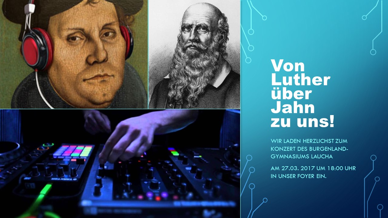 Von Luther über Jahn zu uns