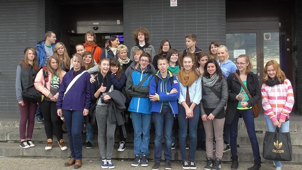 Gruppenfoto Polen