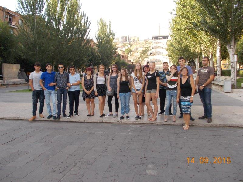 Spaziergang durch Jerewan