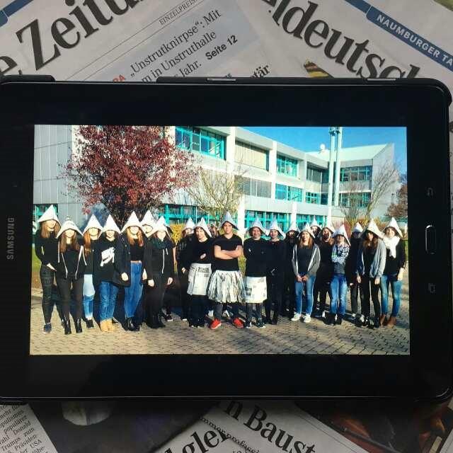 """Zeitung auf allen Kanälen –  Das Projekt """"Klasse 2.0"""" am Burgenland-Gymnasium"""
