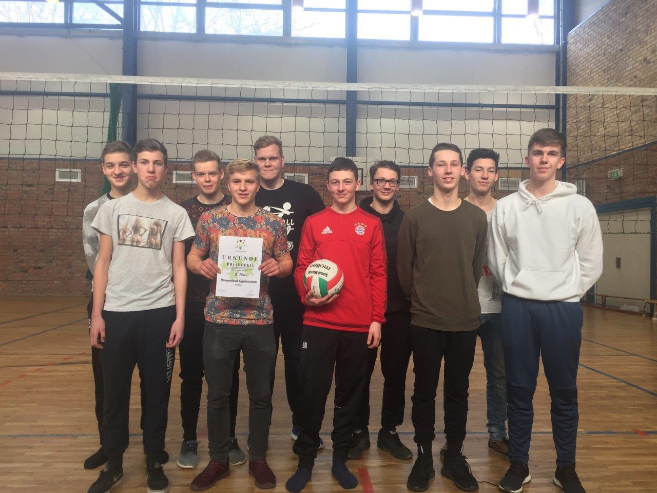 Jugend trainiert für Olympia – Volleyball Jungen