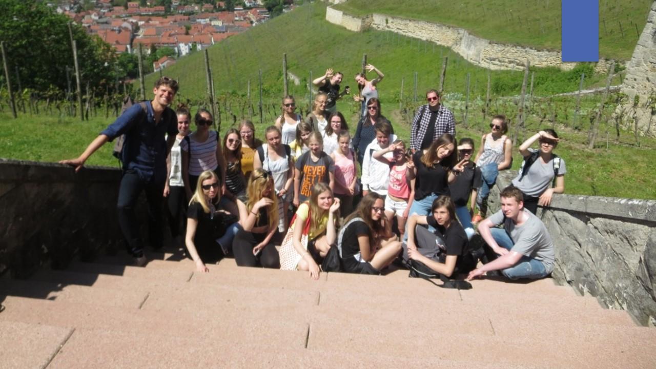 Besuch polnischer Schüler und Lehrer am Burgenland-Gymnasium Laucha im Rahmen des Schüleraustausches