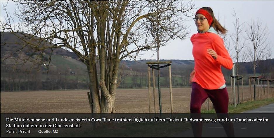 Sportlerwahl 2017 im Burgenlandkreis – Cora Blaue von unserem Gymnasium gehört zu den Nominierten