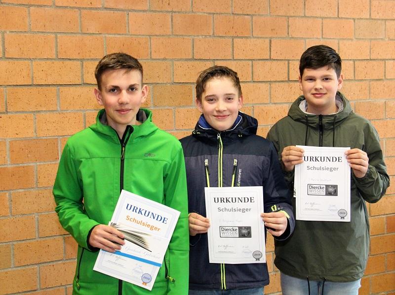 Diercke WISSEN Geographiewettbewerb 2018