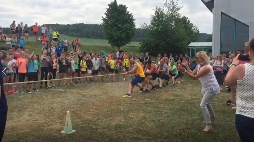 Sportfest 2018 – leichtathletischer Dreikampf fällt Gewitter zum Opfer