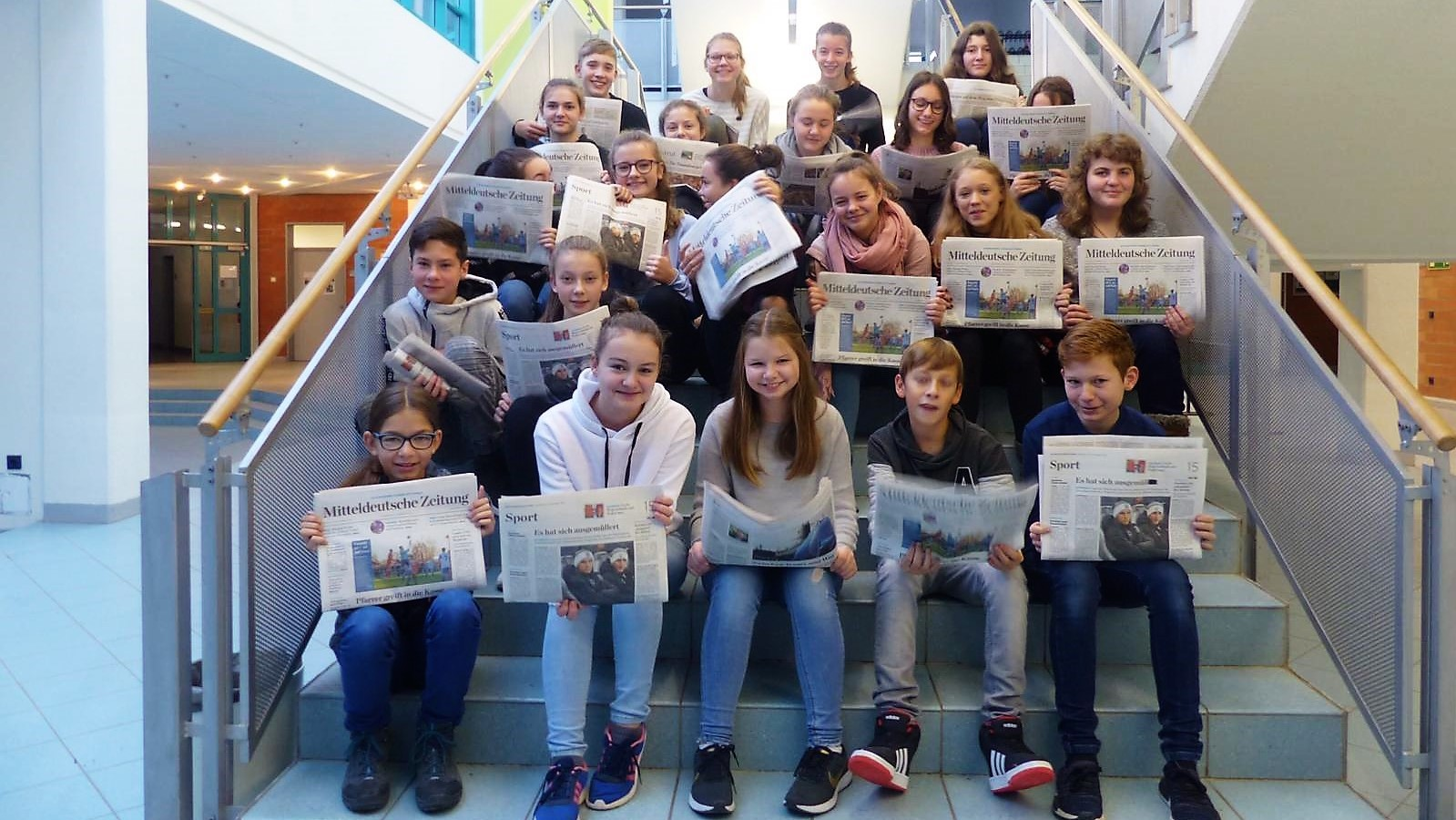 Zeitung verbindet