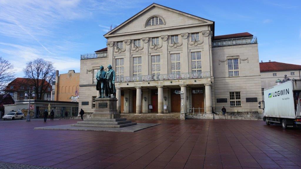 Reisebericht Exkursion nach Weimar