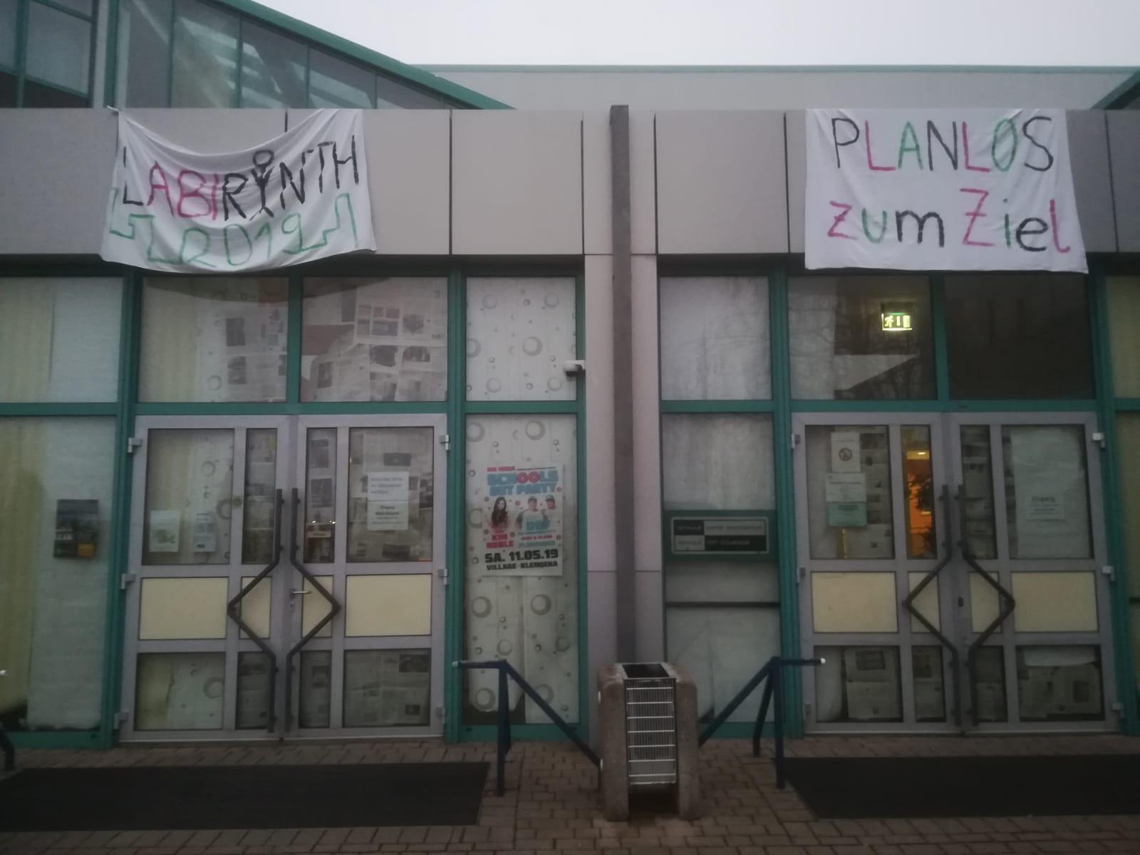 Alles Gute für's Abitur!