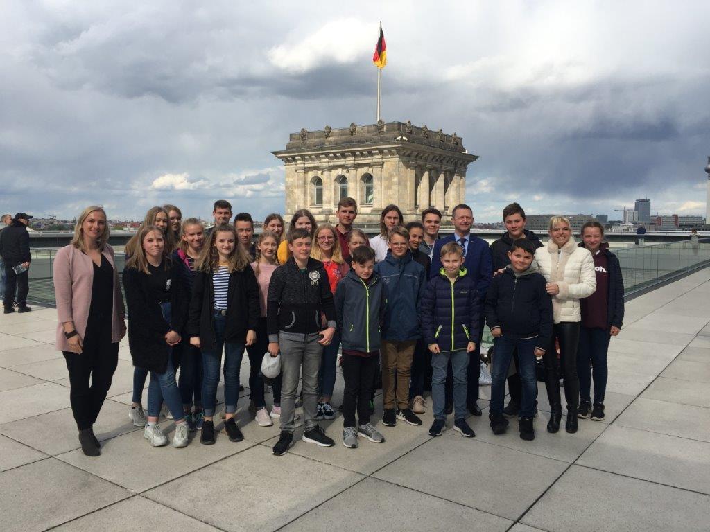 Der Schülerrat besucht den Bundestag