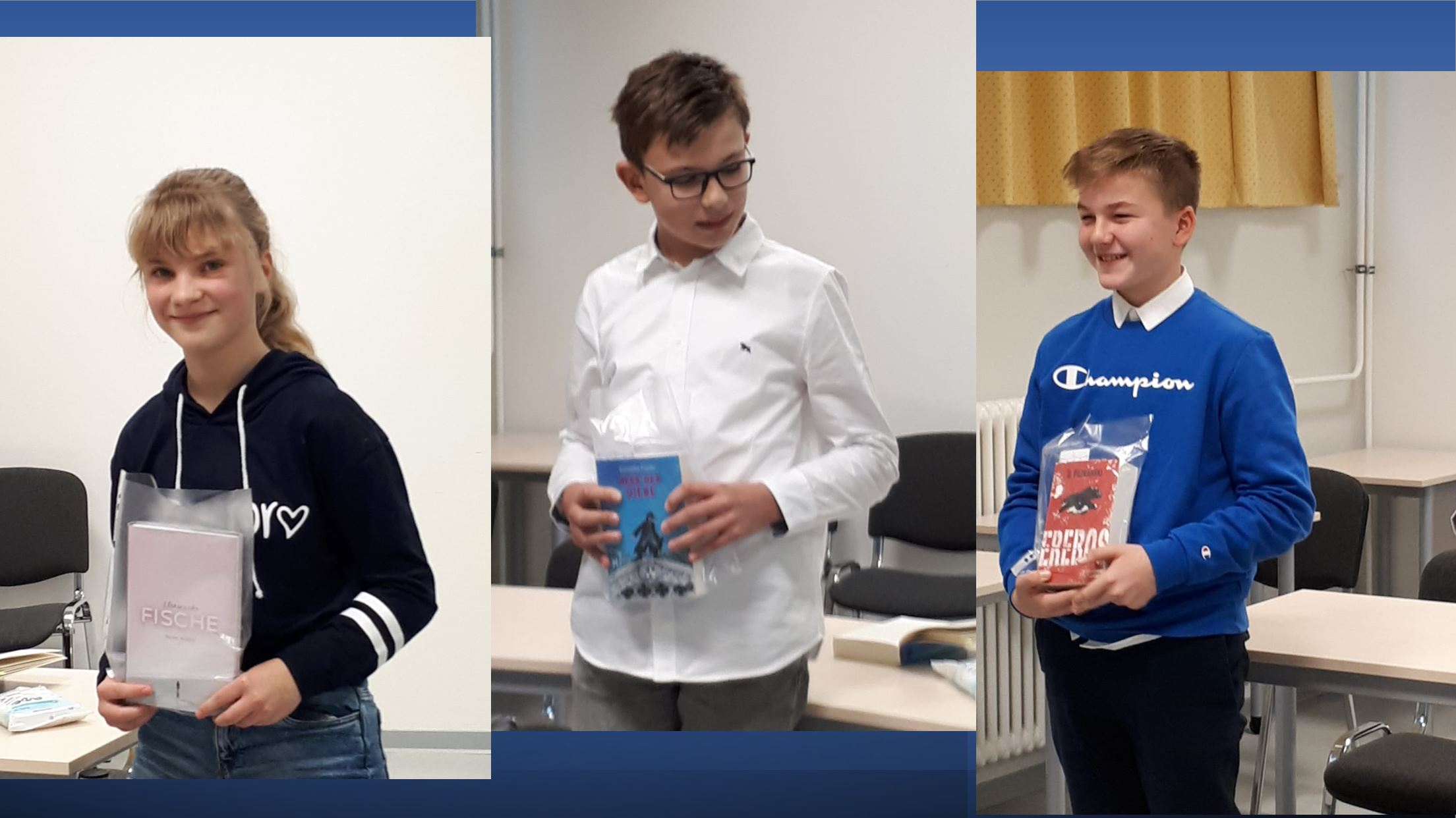 Vorlesewettbewerb des Burgenland-Gymnasiums Laucha 2020